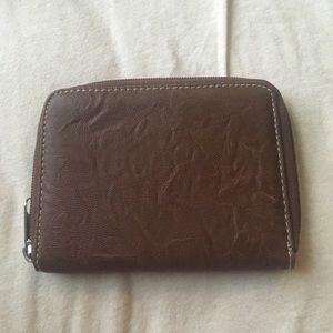 Handbags - Simple brown faux leather wallet